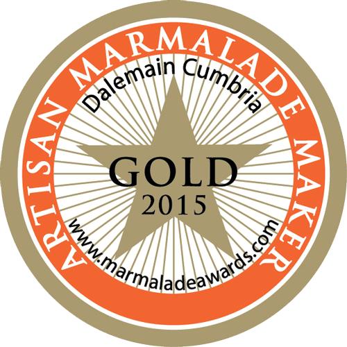 Gold Winner 2015 Artisan Marmalade Maker at Dalemain Cumbria