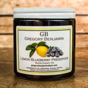 lemon blueberry preserves