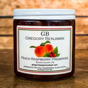 peach raspberry preserves