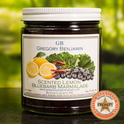 Scented Lemon Bluebarb Marmalade Gregory Benjamin